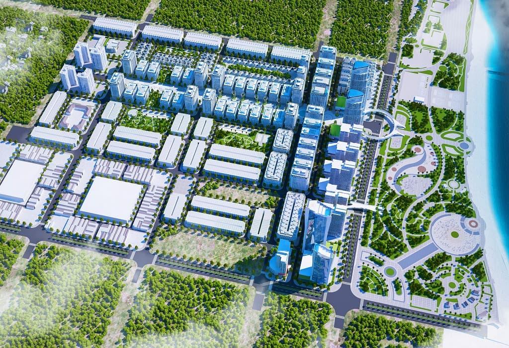 Khu Đô thị biển Bình Sơn Ninh Chữ khu k2