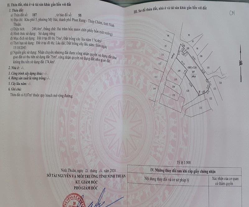 pháp lý nhà cấp 4 hẻm Yên Ninh