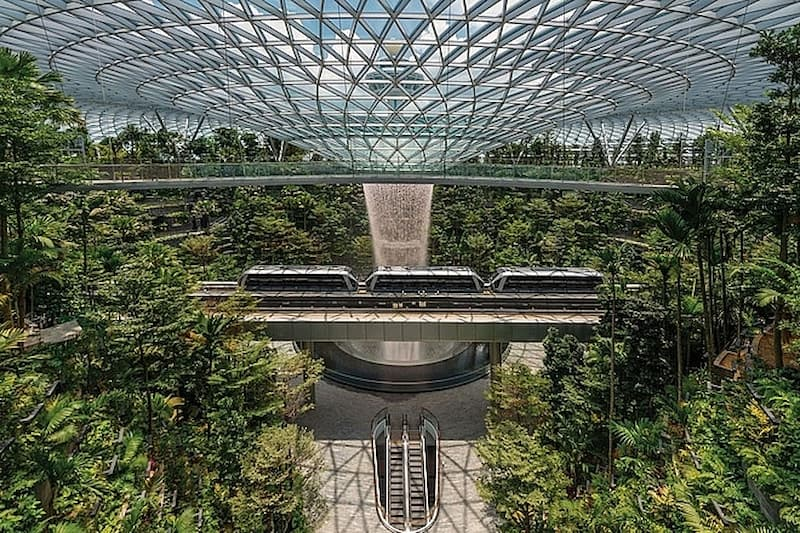 6 kỳ quan kiến trúc tại singapo