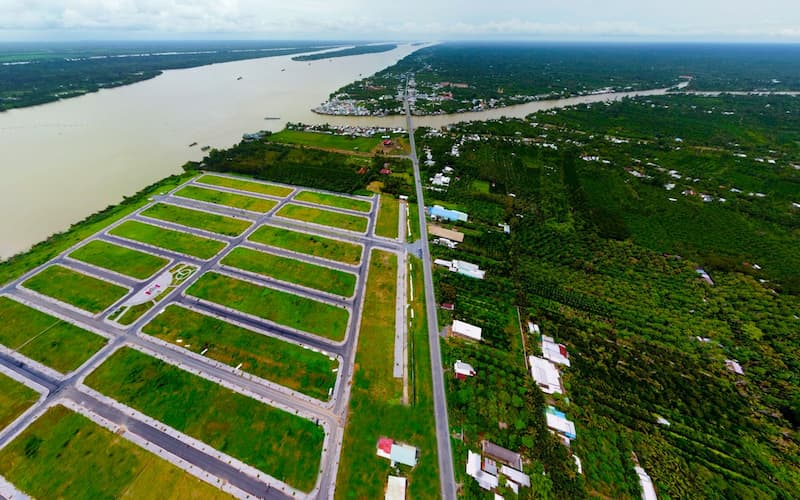 Dự án vị trí đẹp và hạ tầng hoàn thiện hút nhà đầu tư